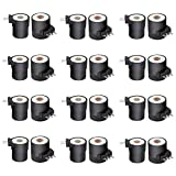 CC.KU 279834 Gas Valve Coil Kit (12 Pack) - Compatible With Whirlpool Kenmore Dryers - Lgnition Solenoid Set Replaces PS334310, AP3094251, 694540, 694539, 306105, 12001349, 306106, EAP334310
