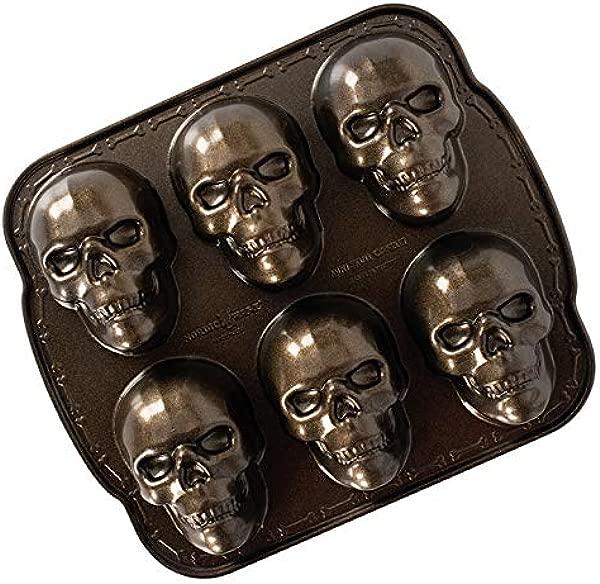 Nordic Ware 89448 Nordic Ware Haunted Skull Cakelet Pan
