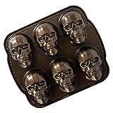 Nordic Ware,89448,Nordic Ware Haunted Skull Cakelet Pan