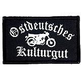 1 x Deutschland DDR Patch Adler Aufnäher Deutsches Kulturgut Fahne Flagge Bundeswehr Armee Bund mit Klettverschluss