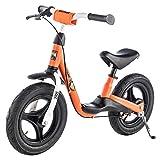 """'Kettler ruota""""Spirit Air pneumatici da corsa–dimensioni: 12,5pollici, a partire dai 2anni–Girello per ragazzi e ragazze–altezza regolabile–colore: arancione e nero"""
