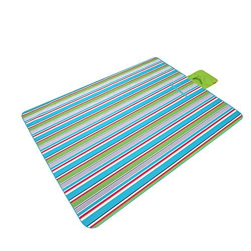 XY&CF 200 * 145cm pliant couverture de pique-nique imperméable à l'eau camping plein air tapis de plage Festival tapis (Couleur : G)