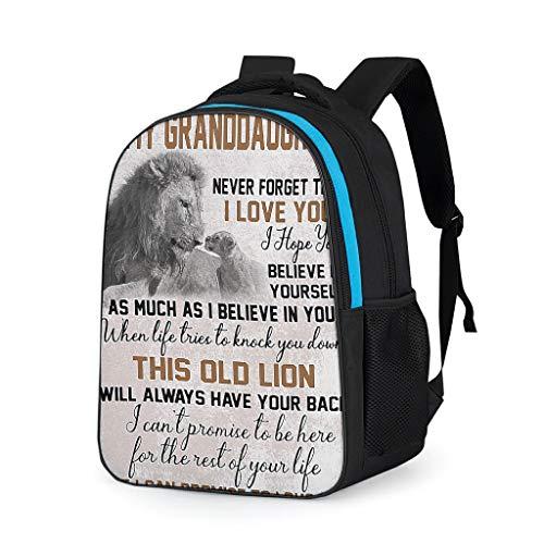 YxueSond 1 Day Left linnen schooltas kinderen rugzak vrouwen Uni Bag pak voor camping