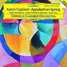 Copland: Appalachian Spring Suite ; Short Symphony Symphony No. 2 ; Quiet City; Three Latin American Sketches