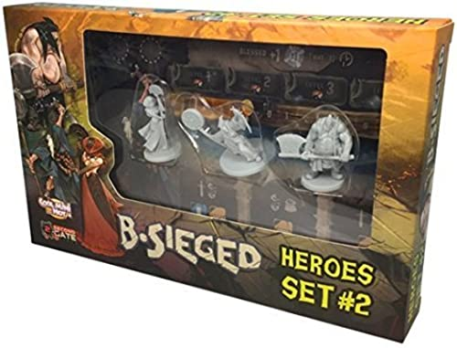 B-Sieged  Heroes Set 2 by CoolMiniOrNotInc.