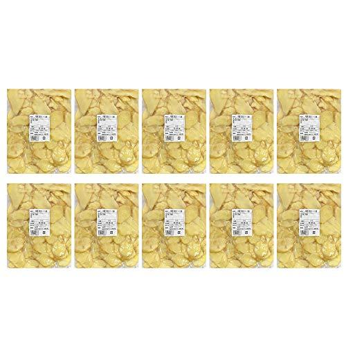 【冷凍】皮付きスライス生姜 1kg×10パック 中国産[スライス生姜 皮付き 生姜専門店]