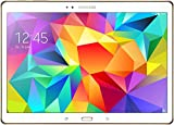 Samsung Galaxy Tab S LTE Tablette tactile 10,5' (26,67 cm) (16 Go, Android, 1 Port USB 2.0, 1 Prise jack, Blanc) - Clavier Qwertz Allemand