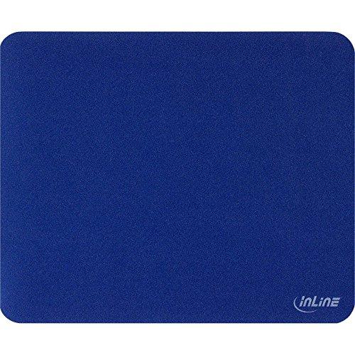 InLine® 21667 Tappetino per Mouse Laser e Ottici, Superficie Ottimizzato per Lavori di Precisione, 220X, Nero