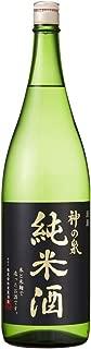 東亜酒造 神の泉 純米酒 瓶 [ 日本酒 埼玉県 1800ml ]