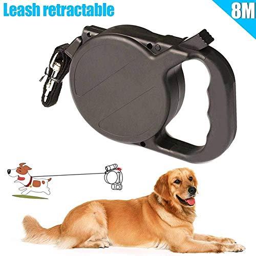 YAYY 8m / 26ft hondenriem automatisch intrekbaar puppatrouille touw holle tractie huisdierbenodigdheden (upgrade)