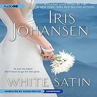 White Satin audiobook cover art