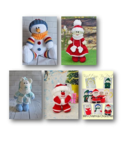 Knitting Pattern Christmas Toy Knitting Patterns Collection KBP-C016 Made in The UK