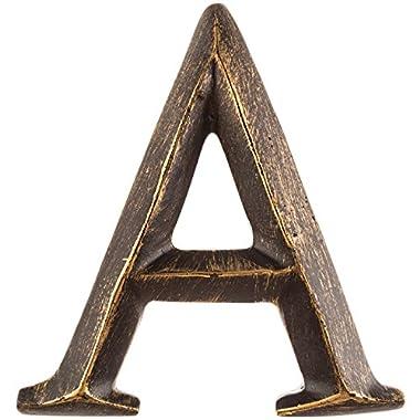 Smays A 4  Bronze Polystone Letter