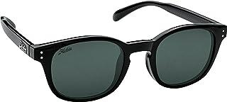 Hobie Eyewear Wrights Sunglasses (Shiny Black Frame/Grey Polarized Pc Lens)