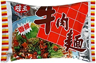 Ve Wong Instant Noodle, Peppered Beef, 3.17-Ounce Packages (Pack of 30)