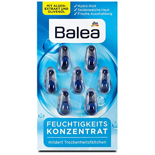 Balea Feuchtigkeitskonzentrat, 8er Pack (8 x 30 g)