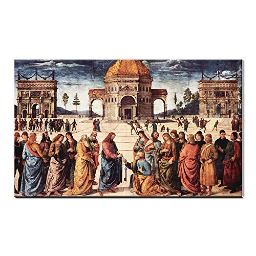 Jesus Christ Sistine Chapel, Vatican City Decor Poster Oil Painting Canvas Prints Picture Artwork Frameless (40x60inch frameless)