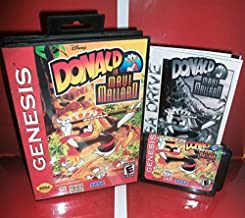 Value-Smart-Toys - Donald Duck in Maui Mallard US Cover with box and manual For Sega Megadrive Genesis Video Game Console 16 bit MD card