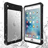 IPad Mini 4 Waterproof Case/IPad Mini 5 Waterproof Case,AICase High Touch Sensitivity ID IP68 360 Degree Shockproof Protective Cover with Kickstand for IPad Mini 5/IPad Mini 4