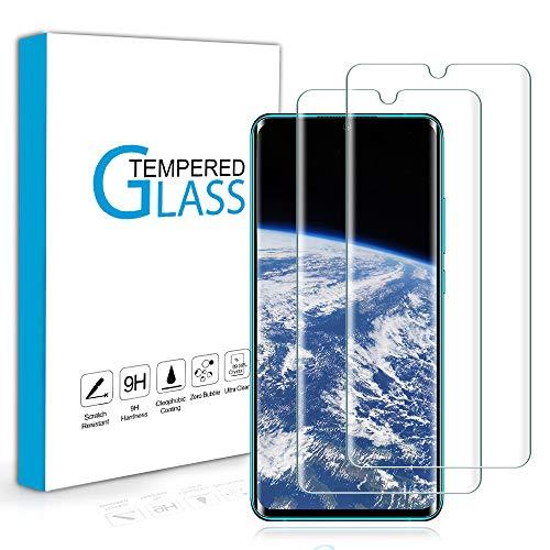 Carantee 2 Stück Panzerglas Schutzfolie für Xiaomi Mi Note 10/Xiaomi Mi Note 10 Pro, HD 3D Vollständigen Abdeckung Displayschutzfolie, 9H Härte Schutzglas, Anti-Kratzen Anti-Bläschen Panzerglasfolie