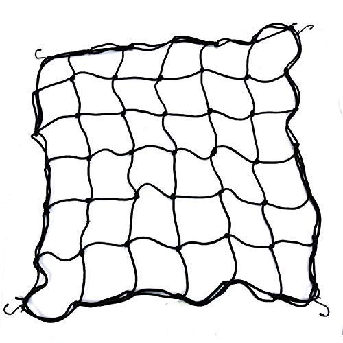 Vumdua Flexible Net Trellis, 1 Pack 2 x 2FT Elastic Trellis Netting Flexible Trellis Netting with 8 Hooks for Grow Tents, Fruits, Flowers