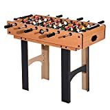 HOMCOM 4 in 1 Multi Spieltisch Tischkicker Tischfussball Kicker Hockey