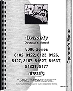 Gravely 8123 Lawn and Garden Tractor Operators Manual