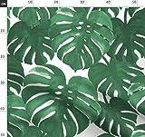 Palme, Handabdruck, Tropisch, Monstera, Palmenblätter