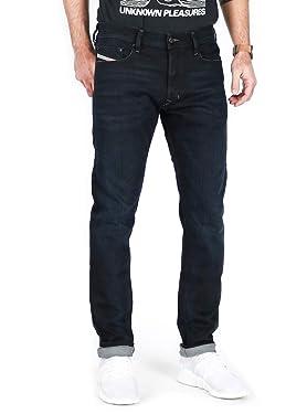 Diesel Men's Tepphar R46D8 Jeans Slim Carrot Cut