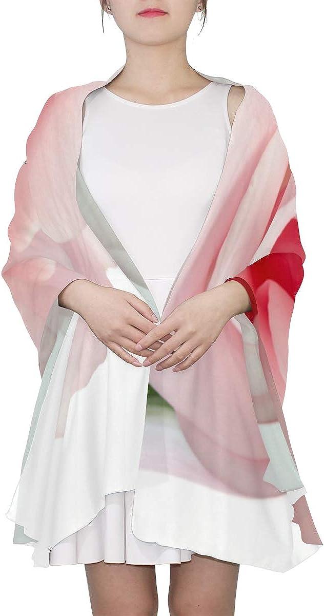 Thin Scarfs For Women Lightweight Bright Elegant Pink Rose Fashion Scarfs For Women Lightweight Scarf For Women Lightweight Print Scarves Long Scarfs For Women Lightweight Elegant Scarf