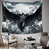 ASFC DC Batman Tapestry Wall Hanging - Blanket Home Decorations for Party Banner Dorm Bedroom Decorative Home Decor - 60'x50'inch