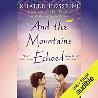And the Mountains Echoed                   By:                                                                                                                                 Khaled Hosseini                               Narrated by:                                                                                                                                 Khaled Hosseini,                                                                                        Shohreh Aghdashloo,                                                                                        Navid Negahban                      Length: 14 hrs     470 ratings     Overall 4.3