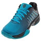 K-Swiss Men's Hypercourt Express 2 Tennis Shoe (Algiers Blue/Black, 9)