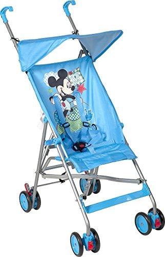 Lulabi Mickey Cochecito Ligero con paraguas, azul