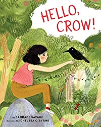 hello crow picture book cover