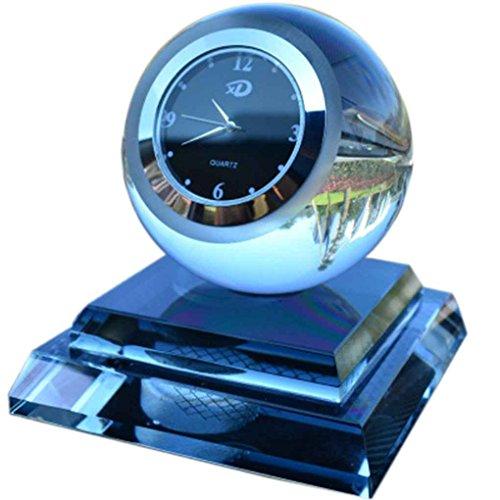 Qinghengyong Automóviles de Perfume de Cristal del Reloj Reloj del Coche de la decoración de Aire con el Reloj del Coche de Perfume cristalino del Coche de Renueva Perfume Reloj Reloj Ambientador