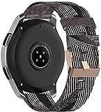 Gransho Bracelet de Montre Compatible avec Huawei Watch GT 2 (42mm) / Watch Elegant/Watch GT 2 Elegant, Homme et Femme NATO Nylon Tissu (20mm, Pattern 8)