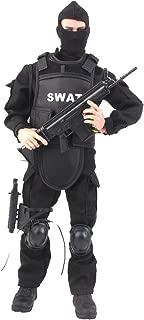Baoblaze 1/6 Police Combat SWAT Soldier NB06A 12'' Police Action Figure Model
