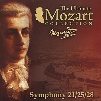 Mozart: Symphonies Nos. 21, 25 & 28