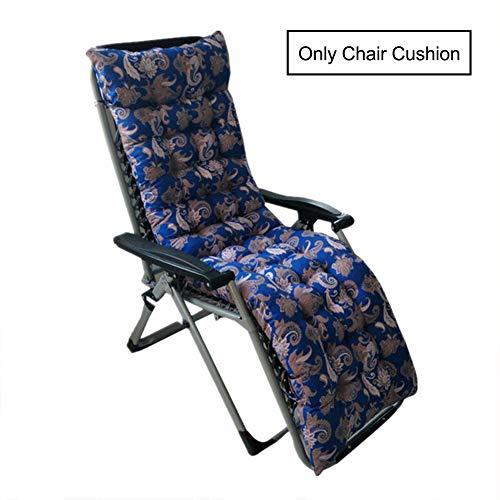 AINH Cotton Thicken Recliner Chair Cushion with Strap,Soft Non-Slip Seat Cushion Four Season Universal Chair Pad Use for Folding Rocking Chair-d 48x170cm(19x67inch)