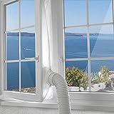 400cm Universale Guarnizione per finestra, per Condizionatore Portatile, Asciugatrice, per Climatizzatore Mobili