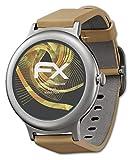 atFoliX Panzerfolie kompatibel mit LG Watch Style Schutzfolie, entspiegelnde & stoßdämpfende FX Folie (3X)