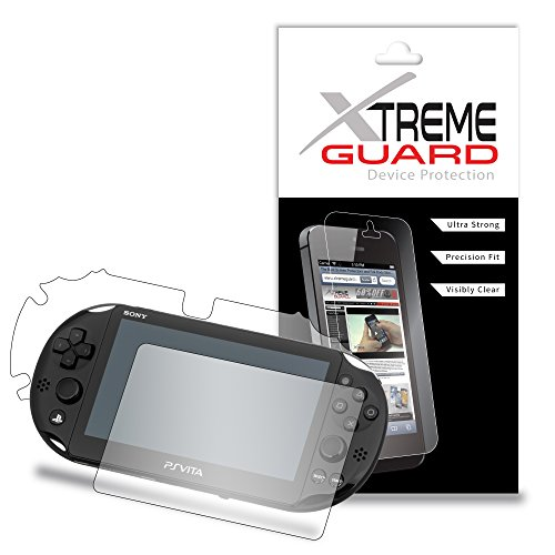 Premium XtremeGuard Full Body Screen Protector Front and Back for Sony Playstation Vita Slim (Ultra Clear)