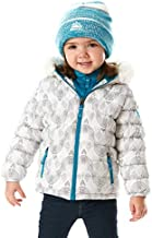 Snozu Girl's Hypoallergenic Puffy Down Jacket with Beanie (3T)