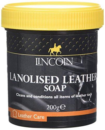 Lincoln Lanolised Leather Saddle Soap, 200g