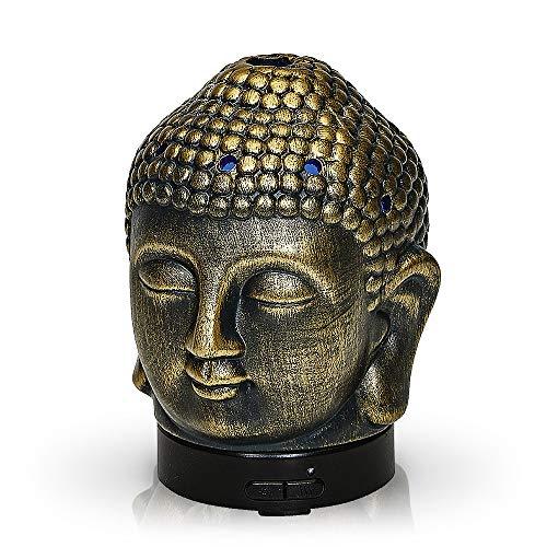 Aromar Buddha Ceramic Diffuser, Bronze