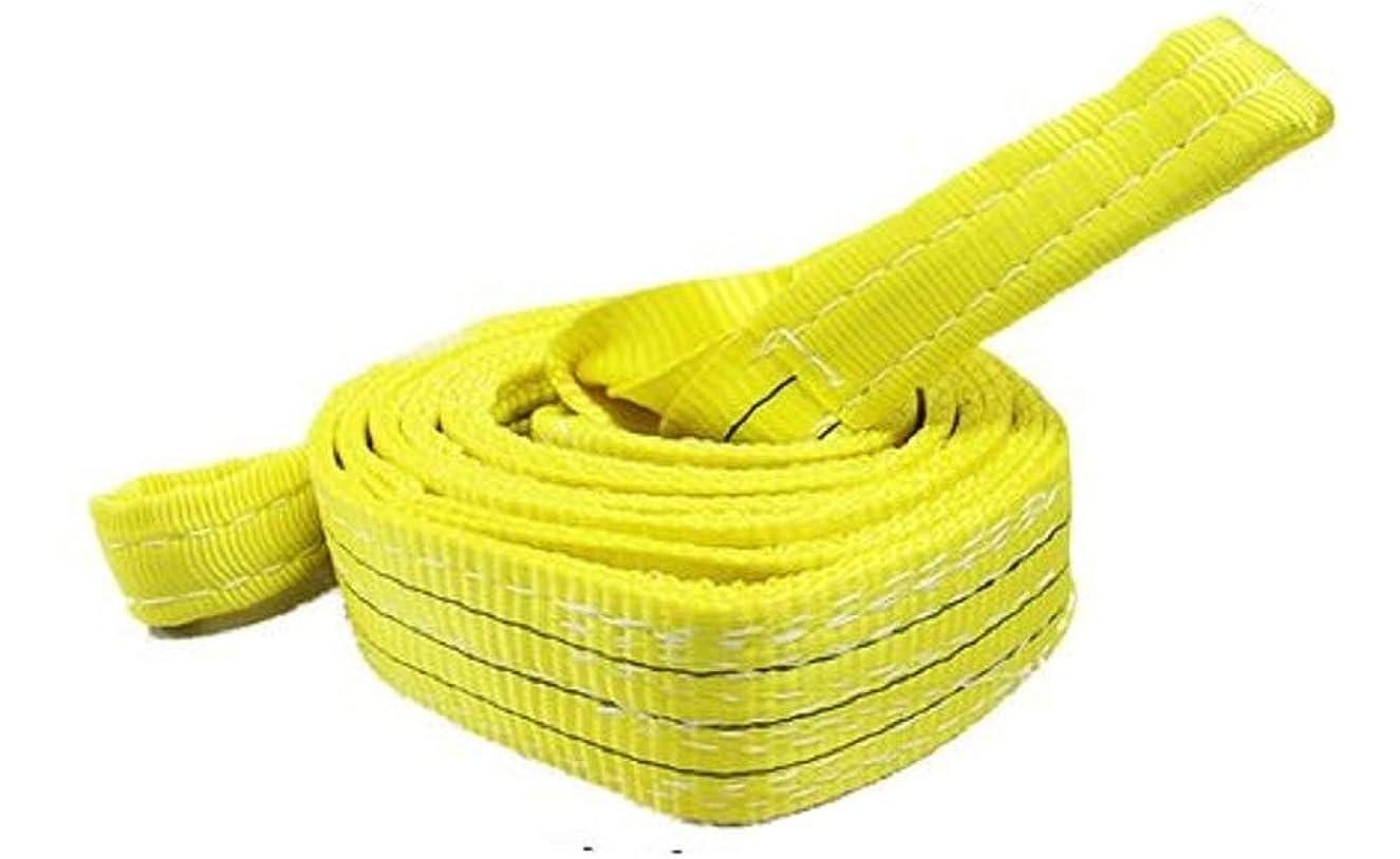 可能にする宿る誘発するスリングベルト使用荷重:2400kg ベルト幅75mm 長さ3m 高品質よろこび価格 ベルトスリング ナイロンスリング