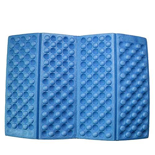 Apofly Picnic Blanket,Outdoor Beach Blanket Foldable Floor Mat Foam Kneeling Pad Kneeler Folding Sit Mat Camping Seat Cushion Waterproof Camping Picnic Cushions Random Color