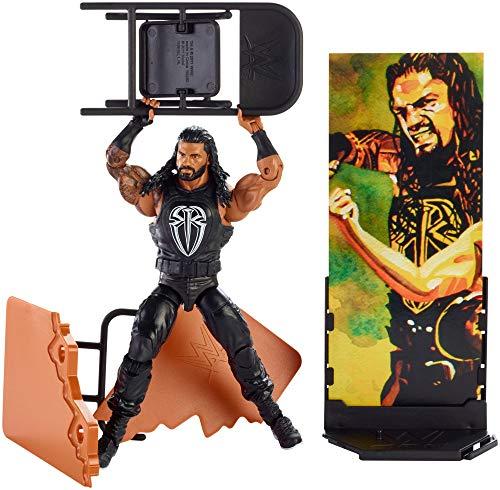 Mattel FMG40 WWE Roman Reigns 15 cm Elite Figur, Spielzeug Actionfiguren ab 6 Jahren