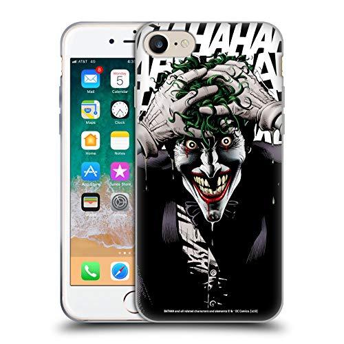 Head Case Designs Ufficiale Joker The Killing Joke Arte Personaggi Cover in Morbido Gel Compatibile con Apple iPhone 7 / iPhone 8 / iPhone SE 2020